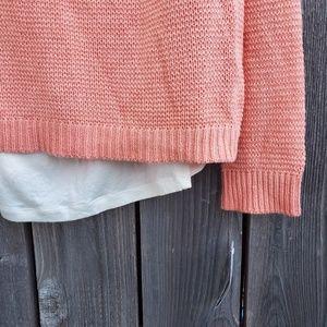 AB Studio Sweaters - NWT AB Studio Coral Cross Back Sweater